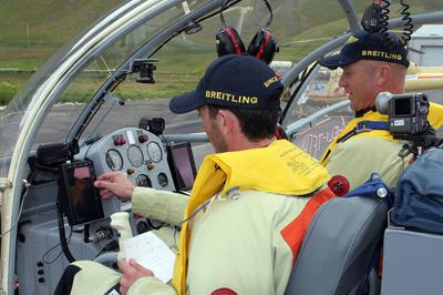 Alouette 1003 - HELIVENTURE 2007 - Equipage